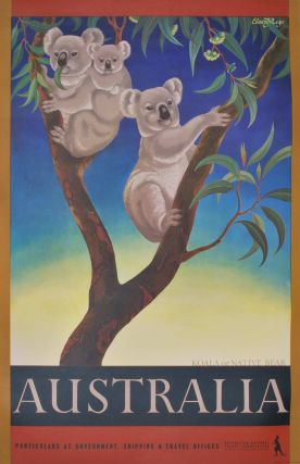 Koala Or Native Bear, Australia. Eileen Mayo, British/Australian/NZ.
