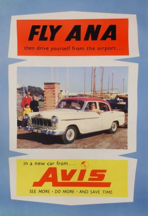 Fly ANA Then Drive Yourself From The Airport In A New Car From Avis