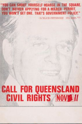 Call For Queensland Civil Rights
