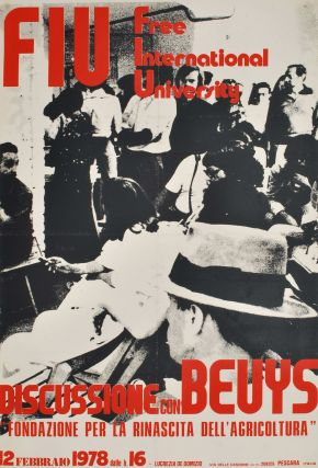 Discussione Con Beuys. Free International University. Joseph Beuys, German