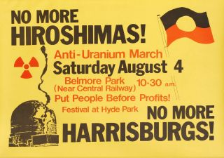 No More Hiroshimas! No More Harrisburgs
