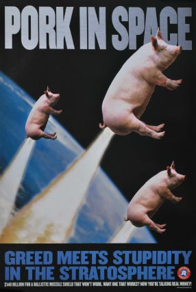 Pork In Space. Greed Meets Stupidity In The Stratosphere