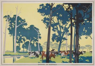 Dairying In Australia. Frank Newbould, Brit.