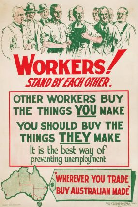 Workers! Stand By Each Other