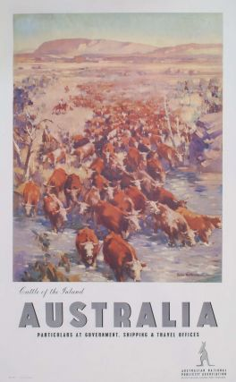 Cattle Of The Inland, Australia [Northern Territory]. James Northfield, Aust