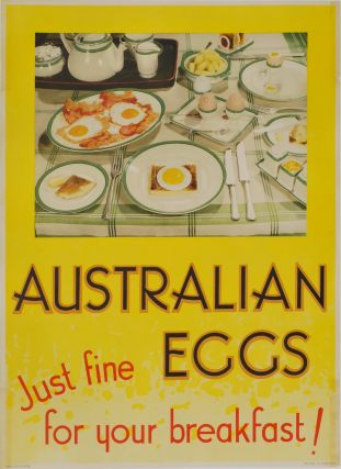 Australian Eggs. Just Fine For Your Breakfast!