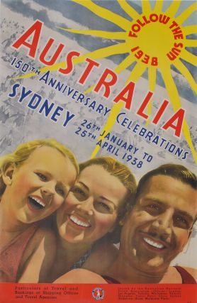 Australia 150th Anniversary Celebrations. Follow The Sun. Attrib. Douglas Annand, Australian
