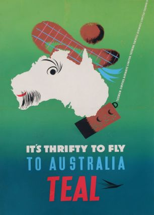 It's Thrifty To Fly To Australia. TEAL