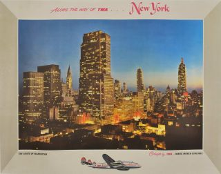 New York. Along The Way of TWA