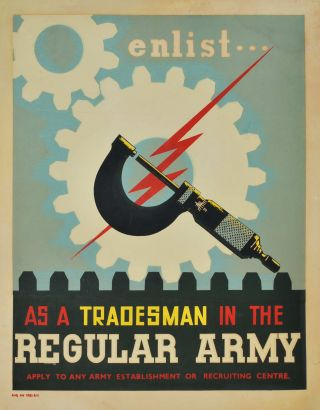 Enlist As A Tradesman In The Regular Army