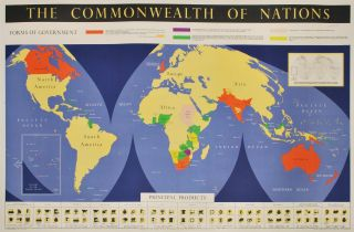 The Commonwealth Of Nations and Resources & Products Of The Commonwealth