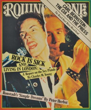 """Rolling Stone"" [Sid Vicious"