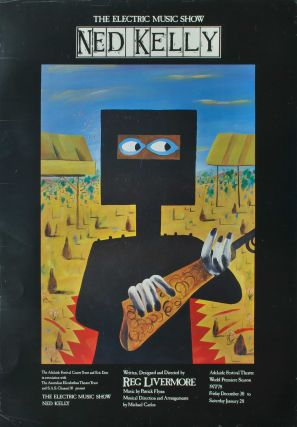 The Electric Music Show Ned Kelly. After Sidney Nolan, Aust