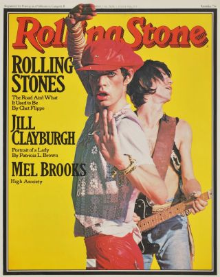 """Rolling Stone"" [Rolling Stones"