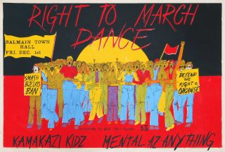 Right To March Dance. Bridget Bogart, Aust
