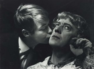 "Sir Alec Guinness And Simon Ward In ""Wise Child""]. Lewis Morley, British/Aust"
