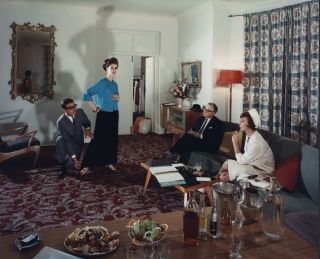 Fashion Consultation At Hampton Court Hotel, Kings Cross, Sydney. Wolfgang Sievers, German/Aust.