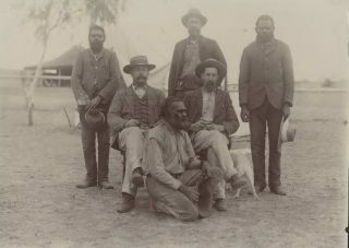 Spencer Gillen Expedition at Barrow Creek. Walter Baldwin Spencer, Francis Gillen, British/Aust.,...
