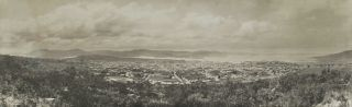Hobart Seen From The West]. Melvin Vaniman, Amer