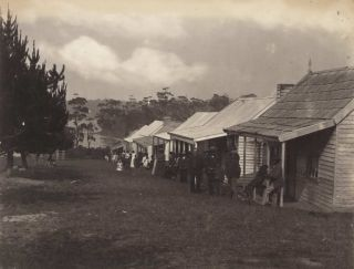 Native Cottages, Lake Tyers [Victoria