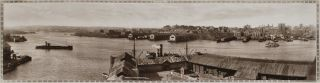 Sydney. Wharfs And City From Pyrmont, No. 16. Alan Row, Co, active 1910s-1920s Aust