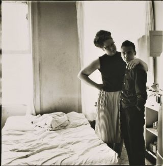 Two Friends At Home, NYC. Diane Arbus, American.