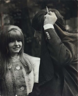 Paul [McCartney] With Girlfriend Jane Asher. Dezo Hoffmann, c. Slovak/British
