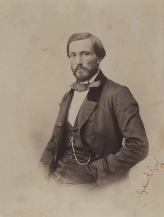 Portrait Of A Gentleman]. Gustave Le Gray, French