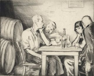 [The Bar]. Frank Medworth, Brit./Aust.