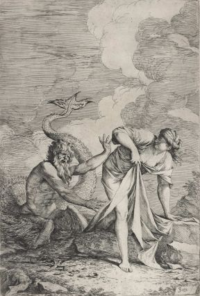 Glaucus And Scylla. Salvator Rosa, Italian