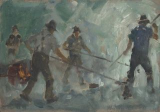 Council Workers. William Rowell, Aust