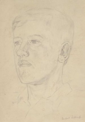 Portrait Of A Young Man]. Rachel Roxburgh, Australian