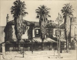 Gonville Chambers, North Tce [Adelaide]. C A. Russell, active 1920s Aust