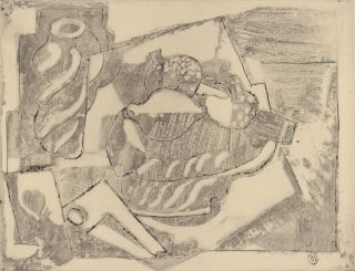 Still Life With Fruit]. Emil Filla, Czech