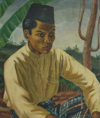 Malaysian Woman And Man]. Frieda Scott Fladgate, c. Brit
