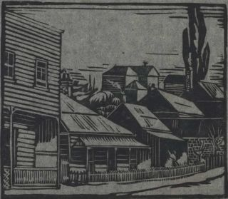Auckland Houses]. May Gilbert, active 1920s-1930s NZ