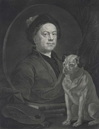 William Hogarth (The Painter And His Pug [Trump]). After William Hogarth, British