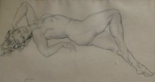 Reclining Nude]. Norman Lindsay, Aust