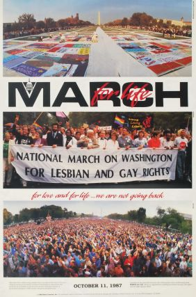 March For Life. National March On Washington For Lesbian And Gay Rights