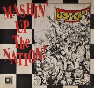 Mashin' Up The Nation! The Best Of US Ska, Vol. One! Evan Dorkin, b.1965 Amer