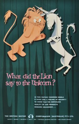 What Did The Lion Say To The Unicorn? [British Motor Corp