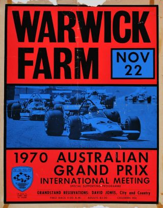 Warwick Farm [Motor Racing, NSW