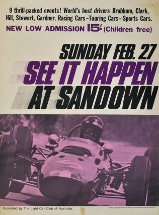 See It Happen At Sandown [Victoria]