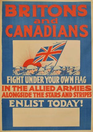 Britons And Canadians, Fight Under Your Own Flag