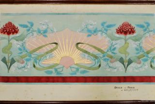 Design For Wall Covering [and] Design For Frieze