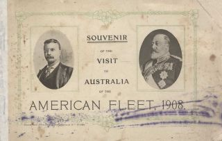 The Great White Fleet Visit To Australia [US Navy] Collection