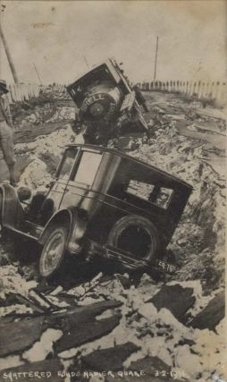Napier Earthquake [Hawke's Bay, New Zealand]. Arthur Bendigo Hurst, NZ