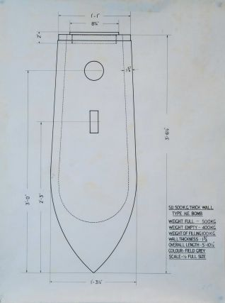 WWII British Enemy Bomb-Disarming Diagrams Collection