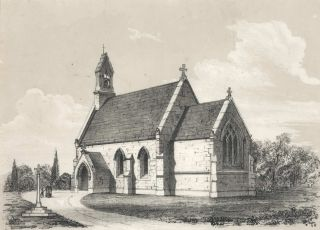 St Paul's Catholic Church, Oatlands, VDL [Van Diemen's Land/Tasmania]