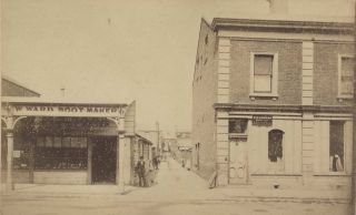 W. Ward Boot-maker & C.G. Leeson, Painter And Sign Writer, Melbourne, Victoria]. Charles...